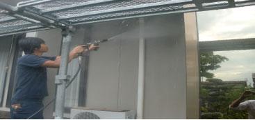 外壁塗装 外壁の洗浄