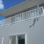 秋田市将軍野 S様邸(外壁塗装色:ND102、屋根塗装色:ブラック)