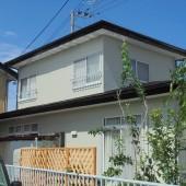 秋田市飯島 T様邸(外壁塗装色:ND218、屋根塗装色:コーヒーブラウン)