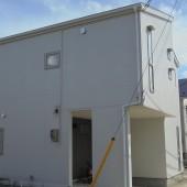 秋田市八橋 I様邸(外壁塗装色:ND102、屋根塗装色:マウンテングレー)