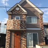 秋田市将軍野E様邸 外壁塗装色:ND342、屋根塗装色:チャコールグレー