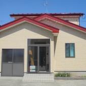 秋田市泉 J様邸 外壁:UVプロテクトクリヤー、屋根:マーズレッド