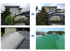秋田市雄和A様邸の外壁塗装・屋根塗装 完工しました