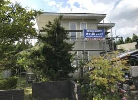 秋田市雄和A様邸 外壁塗装・屋根塗装スタートしました
