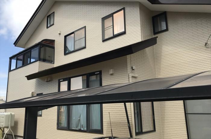 秋田市外旭川 H様邸(外壁塗装・屋根塗装)