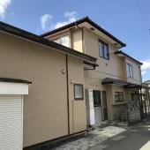 秋田市保戸野 K様邸(外壁)塗装色:N D376