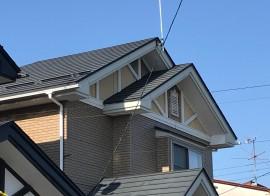 秋田市広面 I様邸 屋根塗装スタートしました