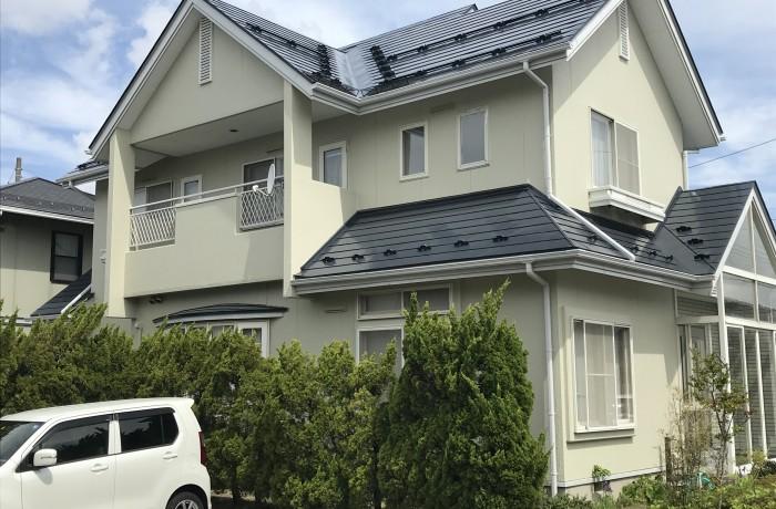 秋田市御野場新町S様邸(外壁塗装・屋根塗装)
