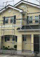 にかほ市A様邸の外壁塗装・屋根塗装スタートしました