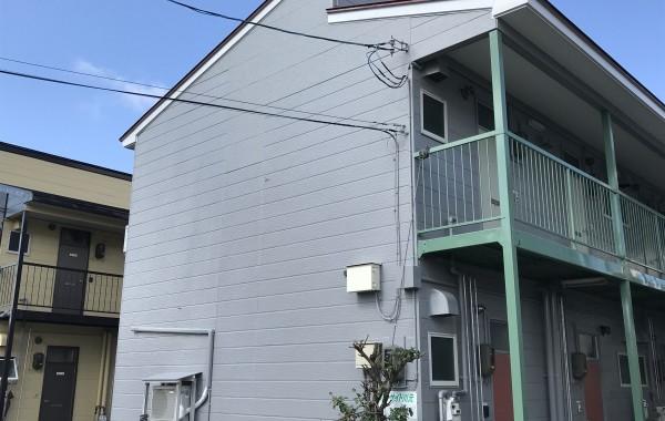 秋田市川元S様所有アパート 外壁塗装・屋根塗装
