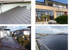 秋田市飯島T様邸 屋根塗装、秋田市桜ガ丘G様邸 全面塗装完了しました