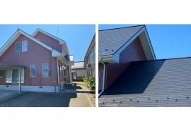 秋田市外旭川S様邸の外壁塗装・屋根塗装 完工しました