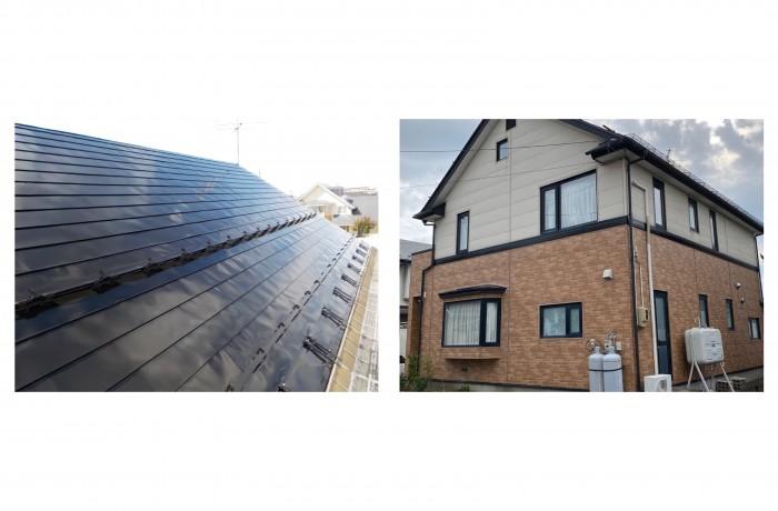 秋田市東通 H様邸 屋根塗装・幕板塗装・ベランダ防水工事
