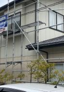 秋田市広面K様邸 外壁塗装・屋根塗装 着工しました