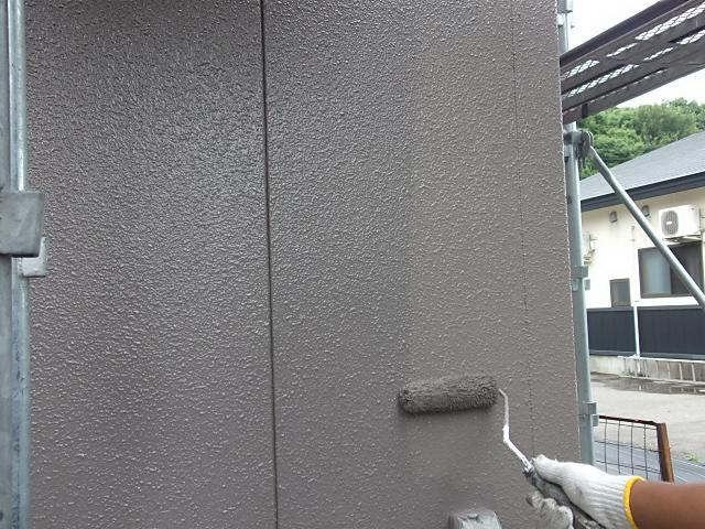 【外壁】上塗り02
