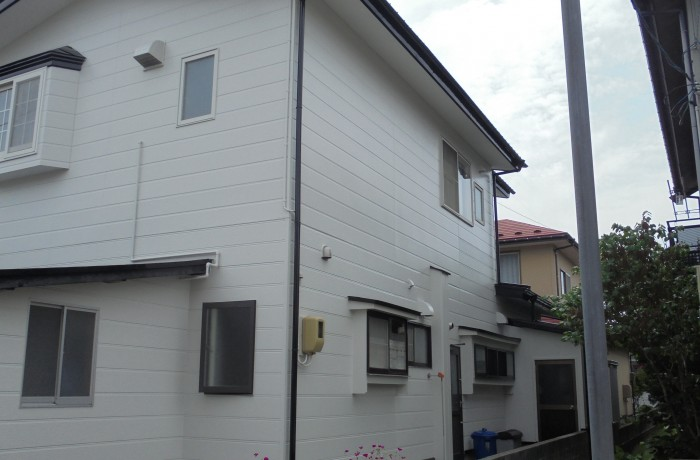 施工事例 秋田市外旭川 S様邸(外壁塗装色 ND102)