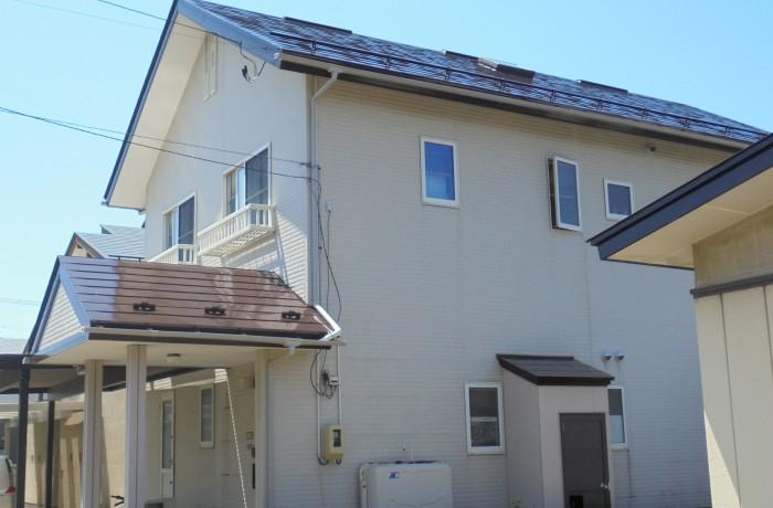 施工事例 秋田市泉 T様邸(屋根塗装色:チョコレート)