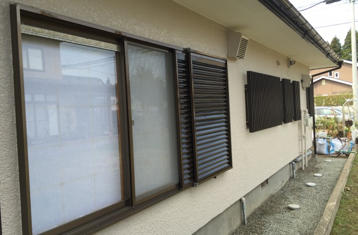 秋田市新藤田 A様邸(外壁塗装色:ND372、屋根塗装色:チョコレート)