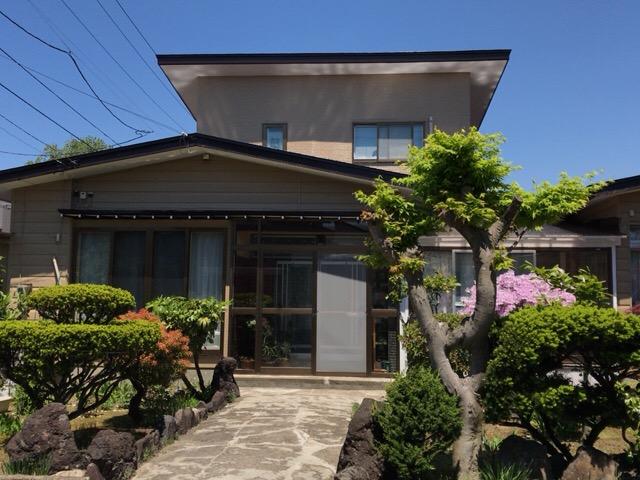 秋田市新屋 H様邸(外壁塗装色:ND376、屋根塗装色:コーヒーブラウン)