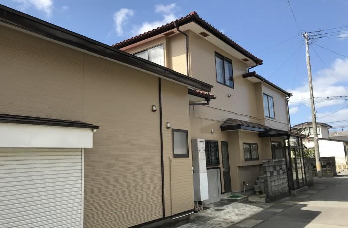 秋田市保戸野 K様邸(外壁塗装)