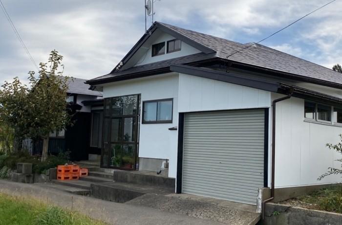 秋田市豊岩H様邸 外壁塗装・屋根塗装・破風雨樋補修