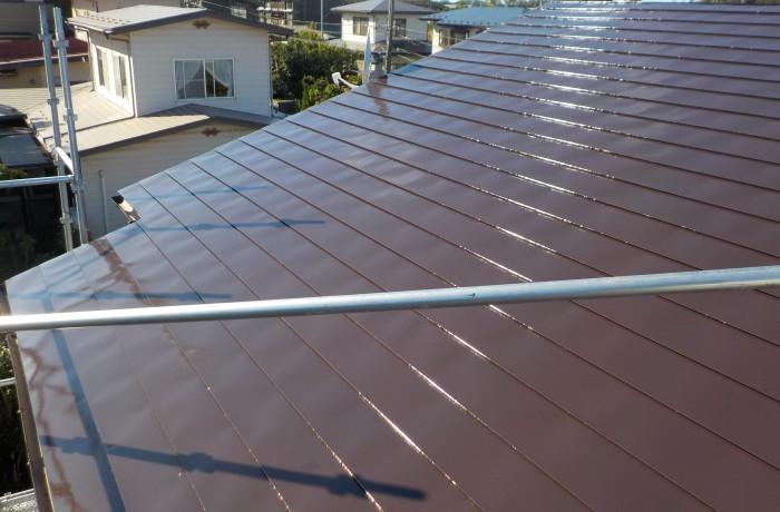 秋田市手形山S様邸 屋根塗装・外壁部分塗装