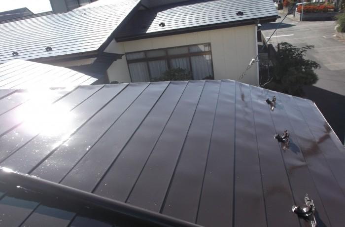 秋田市飯島T様邸 屋根塗装
