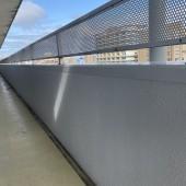 サンハロー秋田駅前様 共用廊下外壁塗装