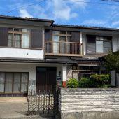 秋田市広面S様邸 外壁塗装(母家・小屋)