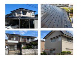 秋田市新屋K様邸 外壁塗装・屋根塗装、秋田市広面S様邸 外壁塗装(母家・小屋) 完工しました